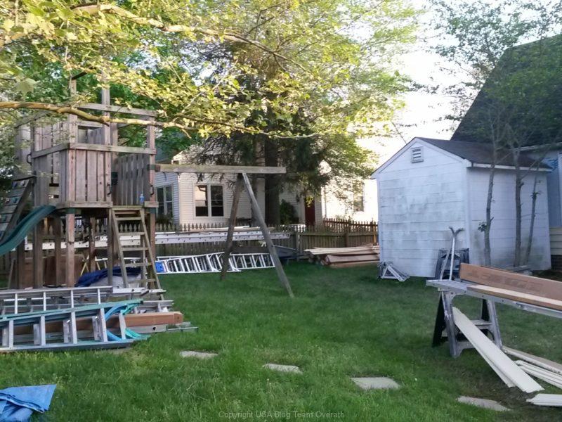 TaDa - es gibt eine neue Außenhaut für das Haus (April 2015)